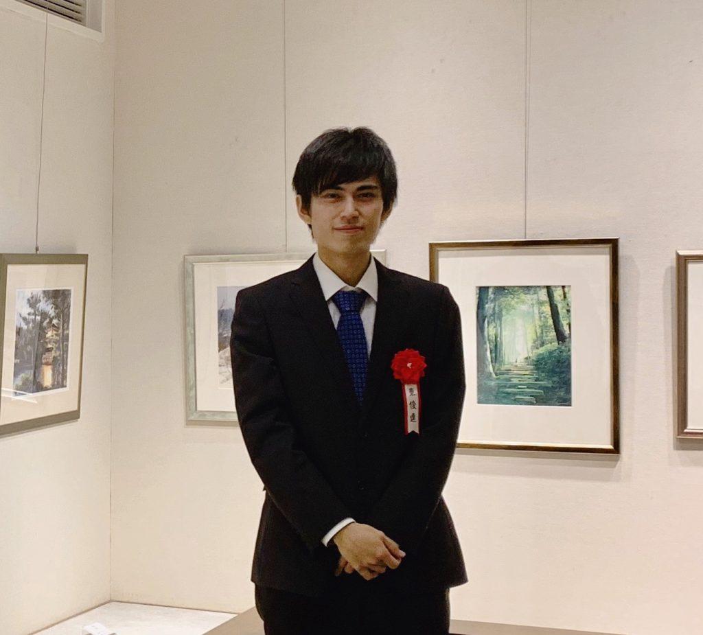 水彩画家 東俊達(あずま しゅんだ) Syunda Azuma